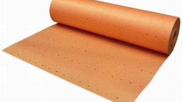 Ondervloer voor laminaatvloeren