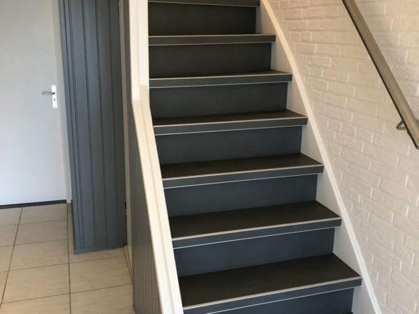 BETONLOOK TRAPRENOVATIE MET PVC geplaatst in Kerkrade